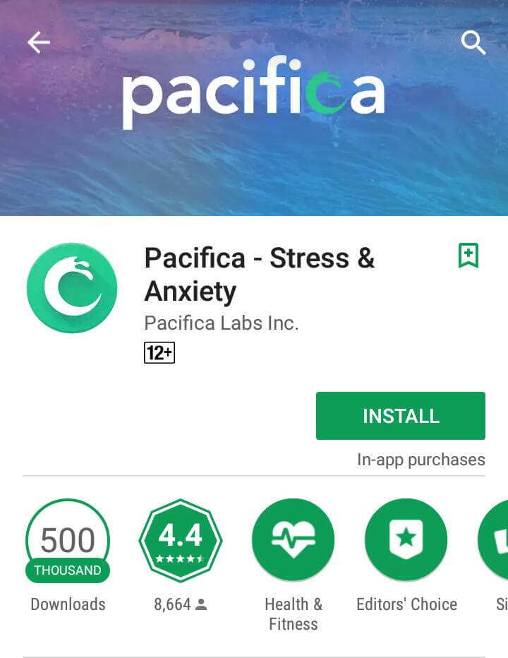 Pacifica-android-app
