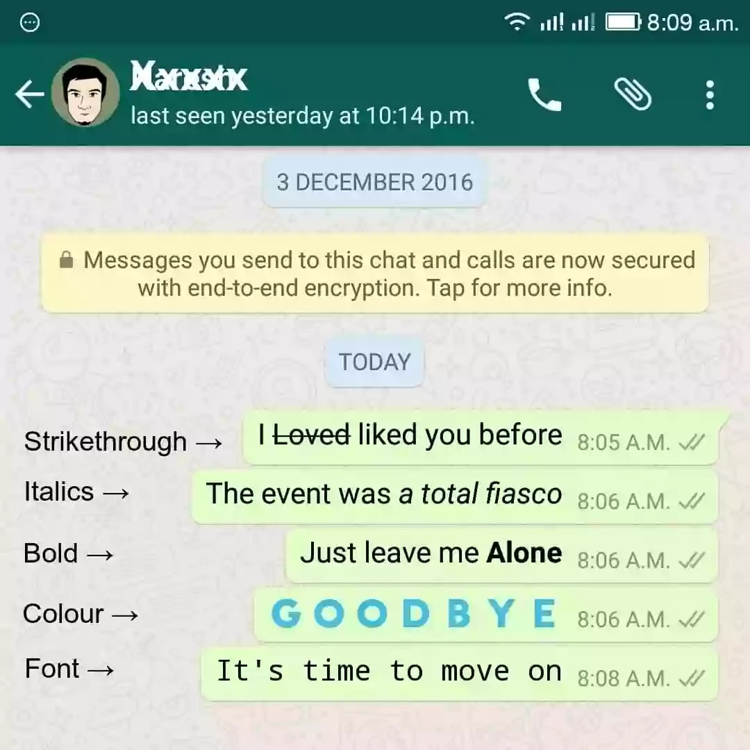 special-words-whatsapp