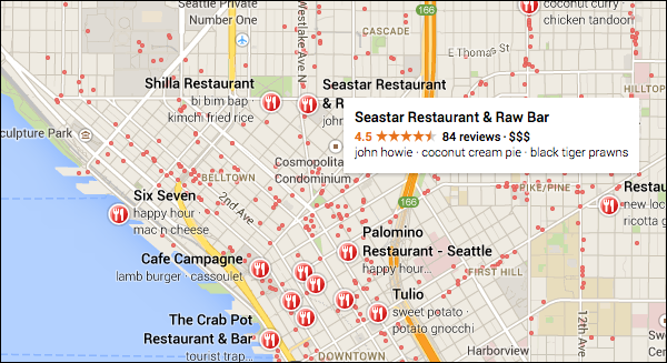 google-maps-restaurants