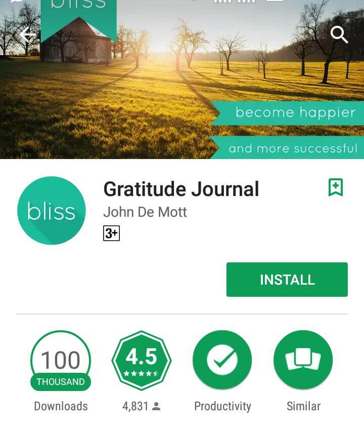 Gratitude-Journal-android-app
