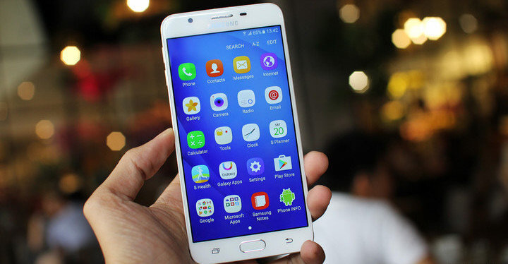 samsung galaxy j7 prime apps